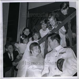 1967 Press Photo Sounds Of Music Scene With Children - RRX32933