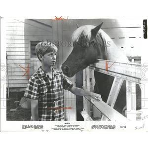 1961 Press Photo David Ladd American Actor Producer