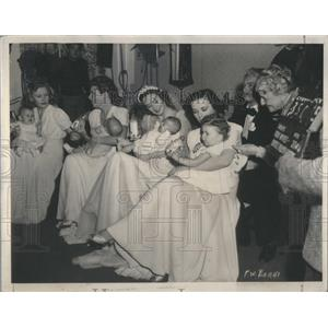 1939 Press Photo Priscill/Lola/Rosemary Lane/Gale Page/Actress - RSC09227