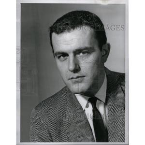 1963 Press Photo Actor Richard Roat - RRX59619