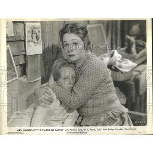 "1934 Press Photo Pauline Lord In A Scene From ""Mrs. Wiggs Of The Cabbage Patch"""