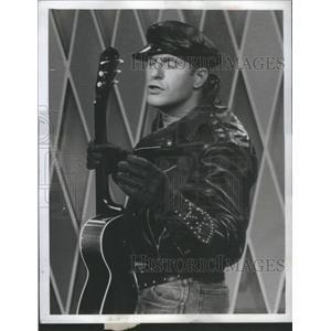 1962 Press Photo JERRY VAN DYKE AMERICAN COMEDIAN ACTOR - RSC45809
