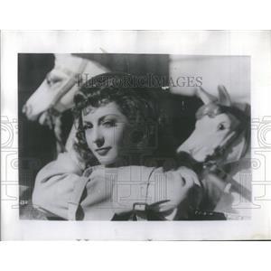 1948 Press Photo Viviane Romance, French Actress. - RSC41337
