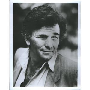 1986 Press Photo Peter Falk was an American Actor. - RSC88965