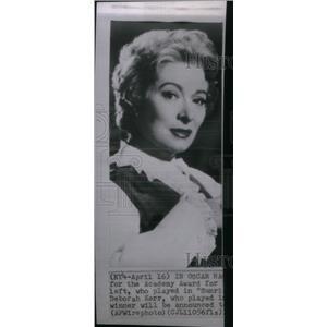 1961 Press Photo Actress Greer Garson - RRX47037