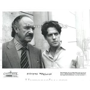 1996 Press Photo Michael Apted Gene Hackman Hugh Grant - RRX96639