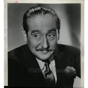 1958 Press Photo Adolphe Menjou American Film Actor - RRW15463