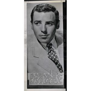 1957 Press Photo William Eythe,actor,producer - RRW76755
