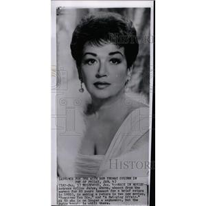 1963 Press Photo Actress Arline Judge - RRW98781