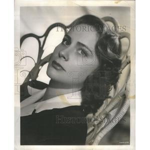 1950 Press Photo Actress Valli - RSC30449