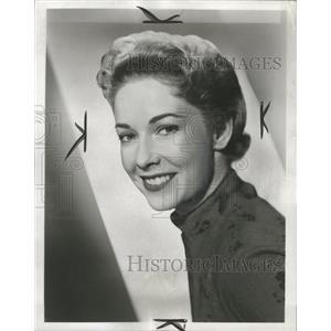 1959 Press Photo Vera Miles Actress - RRW32891