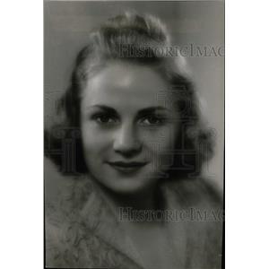1939 Press Photo Virginia Fox American Actress Chicago - RRW97995