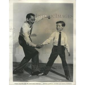 1959 Press Photo Frank Sinatra American Singer Movie Actor - RSC57409