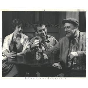 1969 Press Photo Hostage Play Dangler Pleshette Walker
