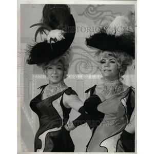 "1969 Press Photo Actress Greer Garson ""Laugh-In"" - RRW25717"