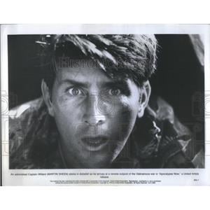 1979 Press Photo Actor Martin Sheen Apocalypse Now Movie - RSC36715
