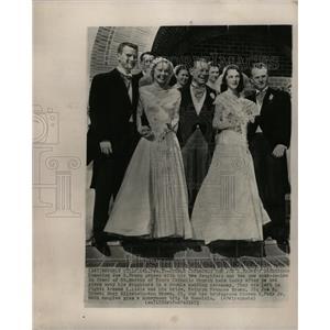 1953 Press Photo Joseph E Brown Film Actor Comedian - RRW17559