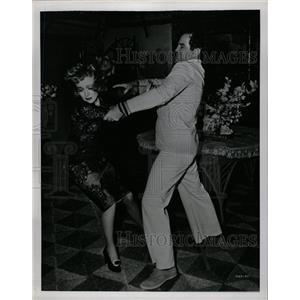 1951 Press Photo Marlene Dietricb Crawford Oscar King - RRW21911
