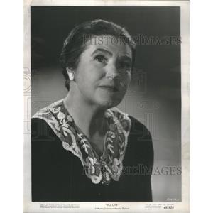 """1948 Press Photo Actress Latte Lehmann in """"Big City."""" - RSC12479"""