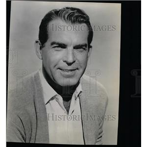 1963 Press Photo Fred MacMurray American Actor - RRW14561