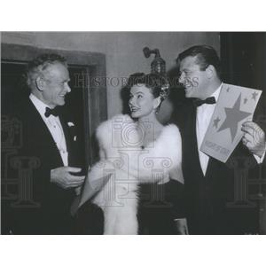 1955 Press Photo Lucy Marlow Actress Oliver Niles Matt Libby- RSA94539