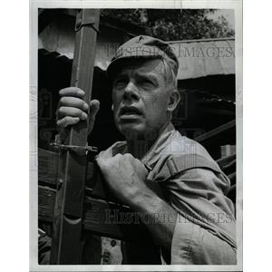 1963 Press Photo Actor Lee Marvin - RRW17777