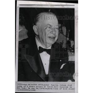 1961 Press Photo Actor Charles Coburn - RRW99795