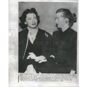 1955 Press Photo Candy Toxton American Actress Mel Torme Divorce - RSC06727