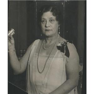 1930 Press Photo Mrs. Joseph B. Long United States Chicago City Socialite