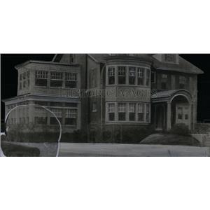1923 Press Photo Berger house building exterior view - RRX55797