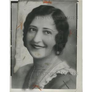 1933 Press Photo Mrs Daniel Antoinette Grills Princess - RRW32353