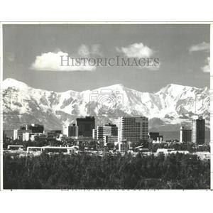 1961 Press Photo Anchorage, Alaska - RRX85877