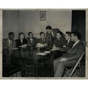 1947 Press Photo Michigan Communist Party members meet - RRW91057
