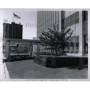 1958 Press Photo City/County Building in Detroit