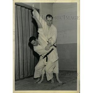1962 Press Photo Sodetsukomi goshi Jim Colgan Bill Judo - RRW82675
