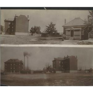 1913 Press Photo The Old Good Shepherd Home Buildings At Cedar And Cherokee