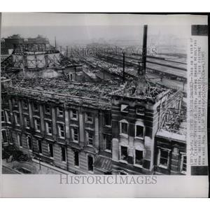 1945 Press Photo American Air Attacks on Tokyo - RRX63849