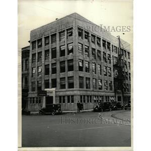 1935 Press Photo Tacoma Washington jail Justice Agents - RRX72319