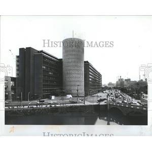 Japan Tokyo City Palaceside Newspaper Office Building - RRX82695