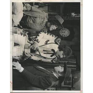 1975 Press Photo Tony Orlando Dawn Buzzi Orlando Clark - RRX90217