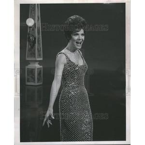 1966 Press Photo Polly Bergen Actress Singer Chicago