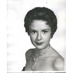 1955 Press Photo Mala Powers American Movie Television Actres - RSC88103