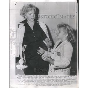 1957 Press Photo ZSA ZSA GABOR AMERICAN STAGE FILM TELEVISION ACTRESS