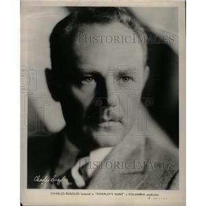 1931 Press Photo Charlie Ruggles American Comic Actor - RRX73779