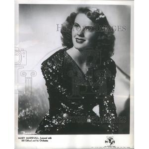 1952 Press Photo MARY MARSHALL ACTRESS - RSC02935