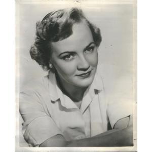 1957 Press Photo Martha Randall Actor principal role the comedy - RSC88499