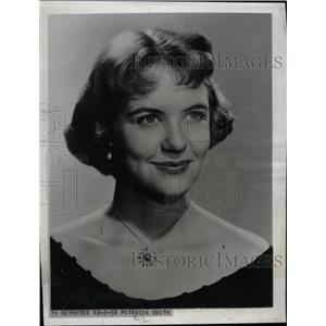 1958 Press Photo Actress Patricia Smith - RRW76109