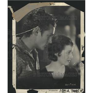 1931 Press Photo 7th Heaven Film Couple Scene Promo - RRW45363
