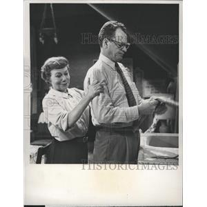 1959 Press Photo James Gregory Actor - RRW33641