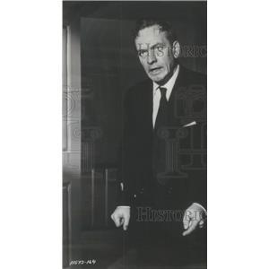 1956 Press Photo Fredric March American Stage Movie Actor - RSC06655